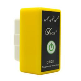 Wholesale Code Detector - Wholesale- Mini ELM327 Bluetooth2.0, OBD II V1.5 Code Readers Scan Tools Portable Car Diagnostic Interface Tools,DIY monitor car-detector