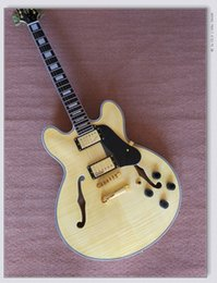 Wholesale Hollow Body Jazz Guitars - Natural Custom 335 Classic Jazz Guitar Best High Quality Wholesale Guitars HOT