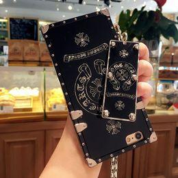 Wholesale Handbags Paris - 2018 Newest Arrival Paris Fashion Show Luxury Phone Case For Iphone7 8 7 8plus TPU case Big Brand Back Cover Case for iphone 6 6plus