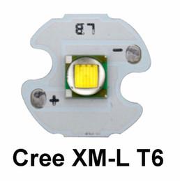 Wholesale Circuit Chip Wholesale - 16mm Cree XM-L T6 LED Chip + 17mm single one mode 3V-18V Input Circuit Board for Cree XM-L L2 T6 U2 U3 XP-L V5 LED Flashlight