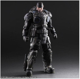 Wholesale Action Figure Play Arts - Play Arts Xbox Gears of War Marcus Fenix 27cm Action Figure Statue NEW BOXED