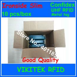 Wholesale Epc Pc - Wholesale- Confidex Ironside slim UHF RFID metal tag 860-940MHZ 915M EPC C1G2 ISO18000-6C for global asset tracking 10 pcs per box