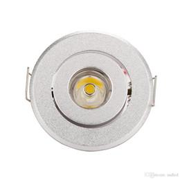 tienda de decoración del hogar venta caliente mini llevó la luz del punto Downlights gabinete luces 1W 3W tamaño del agujero 40-45mm 110-270LM AC85-277V abajo luz desde fabricantes