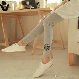 Wholesale Wearing Thin Pantyhose - 2016 new spring and autumn thin thin outer wear badge nine Leggings Maternity Pants for pregnant women16059