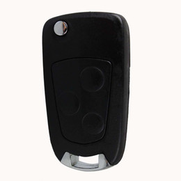 Wholesale Ford Focus Flip Key - Guaranteed 100% 3Buttons Keyless Remote Fob Key Case Shell Modify Car Flip Folding for Ford Focus Mondeo Free Shipping