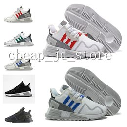 Wholesale Shoes Europe Men - Originals EQT Cushion ADV 91 17 men women Running Shoes Triple Core Black White Red Blue green North America Europe Asia sports sneakers