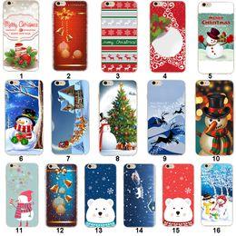 2019 weihnachten iphone santa Weihnachtsweiche TPU Handyhülle Santa Claus Back Cover für iPhone XS Max XR X 8 7 6S Plus rabatt weihnachten iphone santa