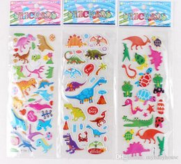 Wholesale Children Mini Set - Wholesale funny toys Set-C-Mixed Kids Cute 3D cartoon Stickers  Children Puffy Decoration Stickers Kids DIY Toy Kids rewards