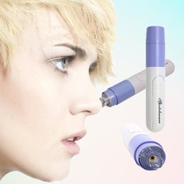 Wholesale Mini Handheld Facial Blackhead Vacuum Suction Face Skin Protection Pore Cleansing Device Zit Acne Remover Cleaner Machine W3829