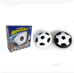 Wholesale Toy Atmosphere - LED Light Football The Amazing Hover Balls Children Soccer Ball Indoor Sport Levitate Air Cushion Atmosphere Puzzle Toy 10 2jy C