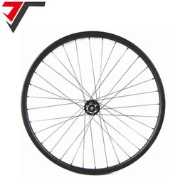 Wholesale carbon disc wheels - TRIPS China mtb carbon wheels 35mm width hookless 29er mountain bike wheels AM 29 inch mtb bicycle wheel thru axle disc wheelset