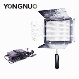 Wholesale yongnuo video light - Wholesale-Yongnuo YN300 III on Camera LED Video Light with AC Power Adapter DC Charger