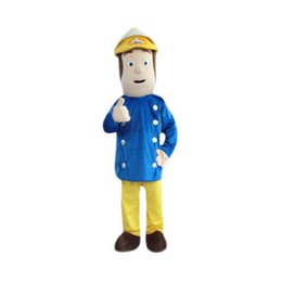 Wholesale Mascot Costume Fireman - Firemen Mascot cartoon, factory physical photos, quality guaranteed, welcome buyers to the evaluation and cargo photos