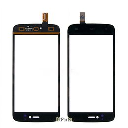 fly phone screen Promo Codes - Wholesale- Black Touch Panel For Fly IQ4411 Quad Energie 2 Sensor Touch Screen Replacement Parts Mobile Phone Touch Panel