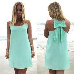 Wholesale Hot Briefs - Dress women chiffon beach dress 2017 hot summer style plus size women clothing women summer dress