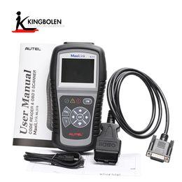 Wholesale Obdii Can Code Scanner - AUTEL AutoLink ML519 Autolink AL519 OBD2 CAN EOBD JOBD Fault Code Reader Scanner OBDII Diagnostic tool Free Shipping