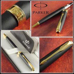 Wholesale Blue Pen Parker - Free Shipping Good Quality Ballpoint Pen Fashion Business Executive Contact Pen Parker Brand