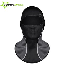 Wholesale Face Cover Hat - Rockbros Winter Face Mask Scarf Cap Neck Headwear Face Shield Hat Ski Sport Face Mask Cycling Warm Snowboard Balaclava Cover 34