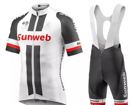 Wholesale Giant Bike Jersey Set - new GIANT sunweb pro cycling jersey 2017 Cycling enthusia Bisiklet sport suit bike maillot ropa ciclismo Bicycle MTB bicicleta clothing set
