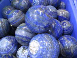 Wholesale Cabochon Lapis - 50-500mm lazulie lapis Sphere Gemstone Amethyst Rock Rose Quartz Crystal Sphere - Hand Carved Gem Stone Ball for Crystal Cabochon Rock