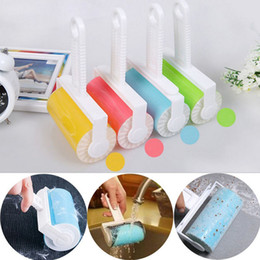 Wholesale Dog Lint Brush - Sticky Buddy Manual Lint Rollers Brushes Reusable Lint Hair Pet Remover Dog Cat Picker Cleaning Brush Sets