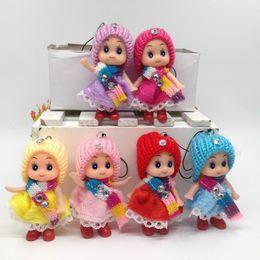 Wholesale Ddung Pendant Dolls - 6pcs 8cmLovely Mobile Pendant Korea cartoon Doll Mini Ddung Dolls high quality Baby Birthday Gift Girl Toys for Valentine's Day
