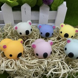 Wholesale Cute Koala Bears - Koala Decompression Toys Squishy Small Bear Doll Squeeze Vent Toy Squishies TPR Dolls Kids Gifts Home Cute Animals Decoration 1 8tq