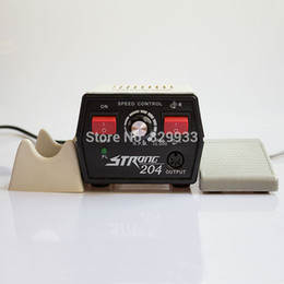 Wholesale Power Grinders - Wholesale- Dental Laboratory & Clinic, Jewellery, Hobby, Nail File & Podoloby Hand Grinder Power Engine STRONG 204 Micro Motor No handpiece