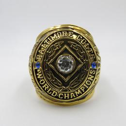 Wholesale Custom 18k Gold Ring - 1958 Super Bowl Baltimore Colts Custom Sports World Championship Rings
