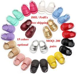 Wholesale Cheap Toddler Girls Sandals - 200 pairs cheap wholesale 15 colors Baby Sandals Shoes Infant Shoes Boys Girls Summer Sandals Kids Footwear Toddler baby first walkers