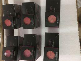 paleta de mejillas Rebajas El más nuevo 6 Colores Brusher Palette Makeup Face Red Cheek Color Blush Beauty Make Up Cosméticos Con Cepillo Envío Gratis