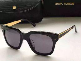 Wholesale Linda Farrow - 2017 hot linda farrow sunglasses men woman Sun Glasses Fashion Eyewear Brand sunglasses New with box numb18
