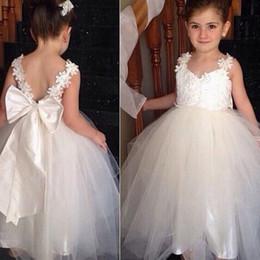 e4bef50e905 FlowerGirl Dress Girl Communion Party Prom Princess Pageant Bridesmaid  Wedding kids Flower Girl Dresses YTZ49