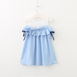 Wholesale Korean Strapless Dress - 3 color Korean style 2017 new arrival girl summer Patchwork strapless Dress high quality cotton stringy selvedge Sleeveless vest dress