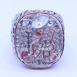 Wholesale Alloy Bowl - 2012 NCAA Alabama Crimson Tide American football Super Bowl sale replica championship ring
