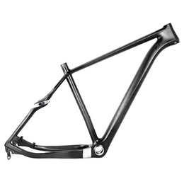 Wholesale Full Carbon Mountain Bike Frame - Full carbon 29er MTB frame 135mm QR or 142mm axle though rear spacing of mountain bicycle carbon frame