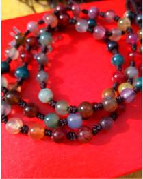 Wholesale Hotan China - China xinjiang hotan colorful natural jade care necklace Q131