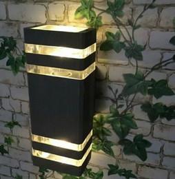 2019 seitenwand led-lampe Moderne 8W LED Wandleuchte wasserdicht auf und ab Seite / LED Veranda Lichter / LED Wandleuchte wasserdicht im Freien 2 Jahre Garantie LLFA rabatt seitenwand led-lampe