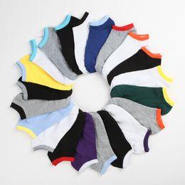 Wholesale Invisible Socks For Men - Men's Slippers Socks Sox Cotton Blend Soft Casual Invisible Socks Mens Summer Socks Underwears for Male