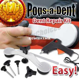 Wholesale dent repair tools kit - DIY Pops A Dent & Ding Car Auto Damage Repair Panel Bodywork Puller Tool Kit