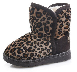 Wholesale sheepskin baby boy - Baby Snow Boots for boys and girls Kids Snow Boots Sheepskin Real Fur Shoes Children Geanuine Leather Australia Shoes