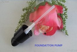 Wholesale Good Chocolates - New Makeup Foundation Pump Good Quality Press Pump Black End Diameter 2.5cm