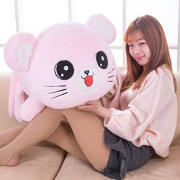 Wholesale Mouse Children Sweater - Lovely to lie prone big face mouse plush toy sweater mouse stuffed animal children birhtday gift