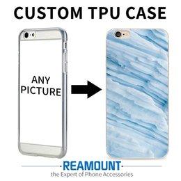 Canada Vente en gros pour iPhone 6 6s 6 Plus Marbre Peau Couverture de téléphone Ultra fin Personnalisé Personnaliser Protective Soft TPU Phone Shell Offre