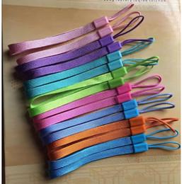 cabo de corda do telefone celular Desconto 1000 pcs boa qualidade mão de pulso telefone celular móvel cadeia cintas chaveiro cordas DIY pendurar corda Lariat colhedor para garrafa