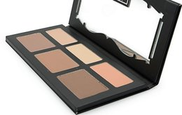 Wholesale Face Contour Palette - Free Shipping ePacket!1 Pieces Lot New Makeup Face Shade Light Contour Palette 6 Colors Bronzers Highlighters Palette!
