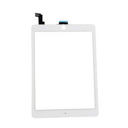 """Wholesale Ipad 2nd Digitizer - High Quality 9.7"""" For Ipad Air 2 2nd ipad 6 A1567 A1566 Touch Screen Digitizer Sensor Panel Glass Lens Panel"""