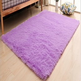 Wholesale Polyester Shaggy Carpets - Home textile Living the Living room bedroom carpet modern carpet mat size: 100*160CM Wholesale and retail