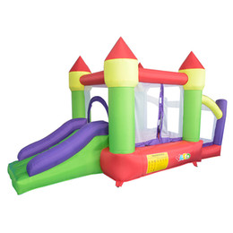 Wholesale Bouncy Slides - YARD Bounce House Bouncy Castle Inflatable Bouncer Slide Ball Pit with Blower