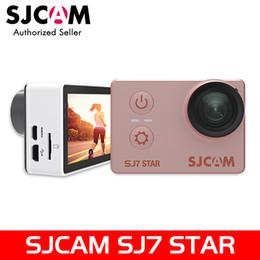 Wholesale action brand - brand new SJCAM SJ7 Star WiFi 4K 30FPS 2' Touch Screen Remote Action Helmet Sports DV Camera Waterproof Ambarella A12S75 Chipset